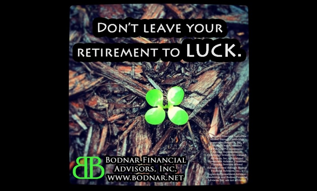 Don't Leave Your Retirement to Luck