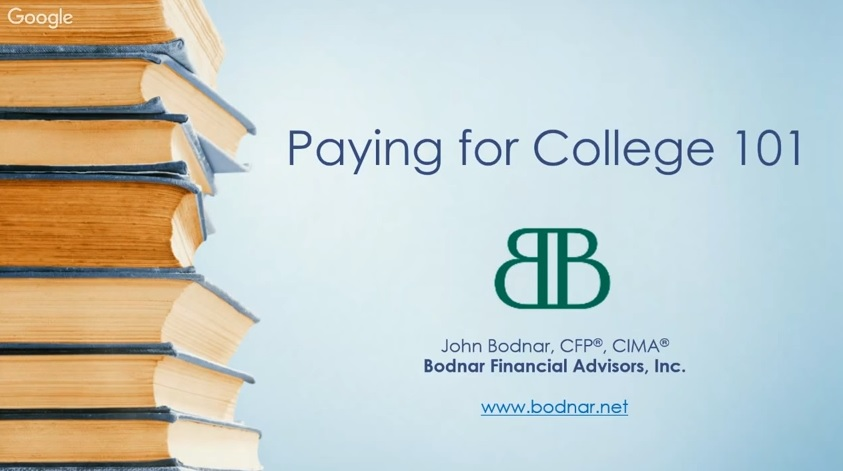 Missed our Webinar on College Savings? No Problem!