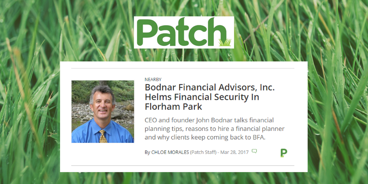 Bodnar Financial on the Patch