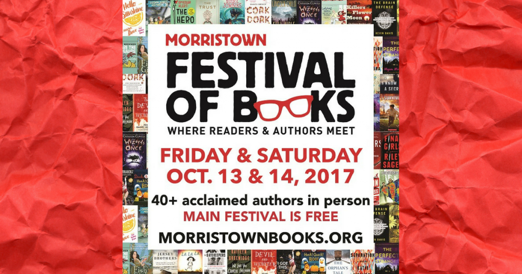Save the Date: Join Us at the Morristown Festival of Books!