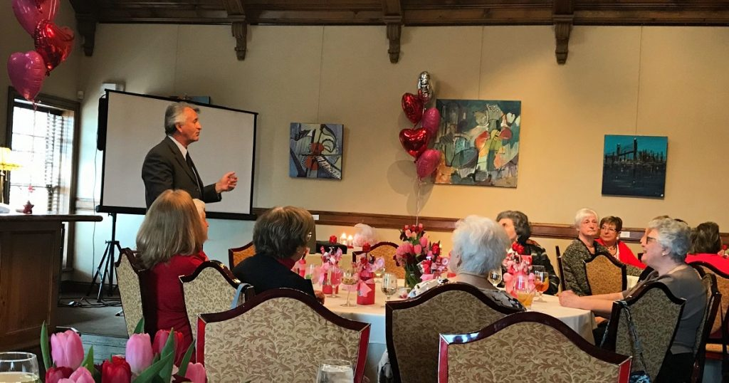 Highlights from the 2018 Valentine's Day Luncheon