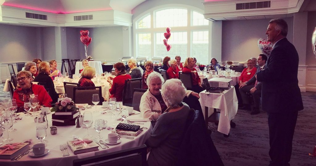 Highlights from the 2019 Valentine's Day Luncheon