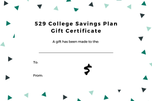 529 gift certificate